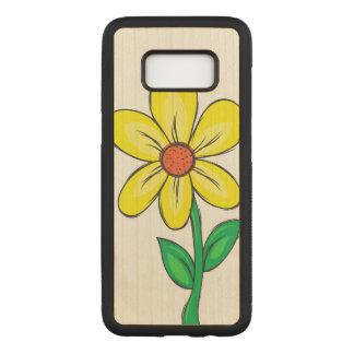 Capa Carved Para Samsung Galaxy S8 Ilustração da flor do primavera