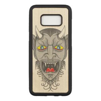 Capa Carved Para Samsung Galaxy S8 Ilustração do diabo