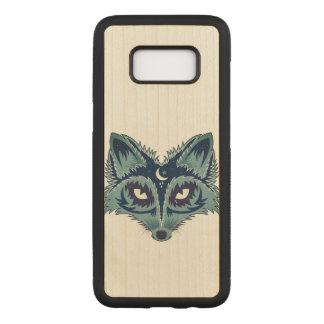 Capa Carved Para Samsung Galaxy S8 Ilustração do Fox