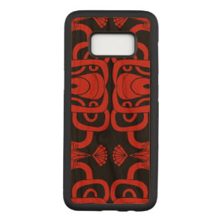 Capa Carved Para Samsung Galaxy S8 Impressão oriental original