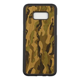 Capa Carved Para Samsung Galaxy S8+ Impressão verde militar do exército da camuflagem
