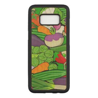 Capa Carved Para Samsung Galaxy S8 Legumes misturados