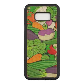Capa Carved Para Samsung Galaxy S8+ Legumes misturados