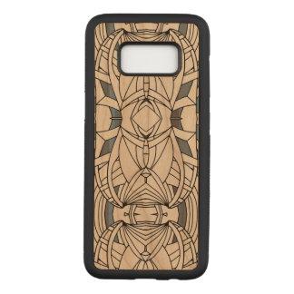 Capa Carved Para Samsung Galaxy S8 Linha abstrata trabalhos de arte