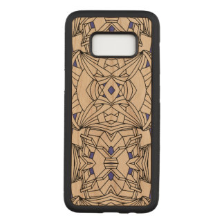 Capa Carved Para Samsung Galaxy S8 Linha trabalhos de arte