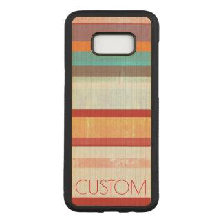 Capa Carved Para Samsung Galaxy S8+ Listras personalizadas