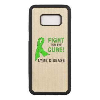 Capa Carved Para Samsung Galaxy S8 Luta da doença de Lyme para a cura
