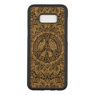 Capa Carved Para Samsung Galaxy S8+ Mandala celta do sinal de paz