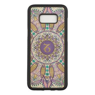 Capa Carved Para Samsung Galaxy S8+ Mandala do Capricórnio do sinal do zodíaco do