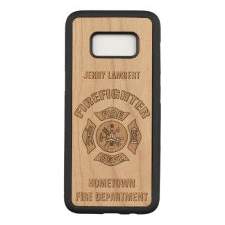 Capa Carved Para Samsung Galaxy S8 Modelo do costume do sapador-bombeiro