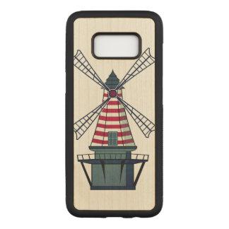 Capa Carved Para Samsung Galaxy S8 Moinho de vento de Holland