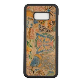 Capa Carved Para Samsung Galaxy S8+ Mosaicos de Guell do parque