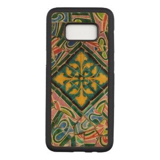 Capa Carved Para Samsung Galaxy S8 Mosaicos de Guell do parque