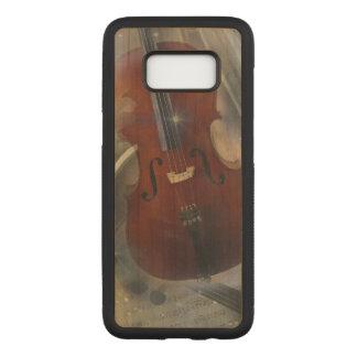 Capa Carved Para Samsung Galaxy S8 Música - o som da alma