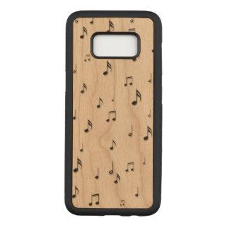 Capa Carved Para Samsung Galaxy S8 Notas musicais