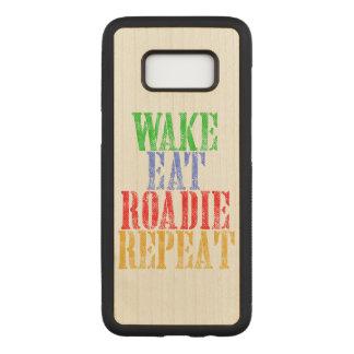Capa Carved Para Samsung Galaxy S8 O acordar come a repetição de ROADIE
