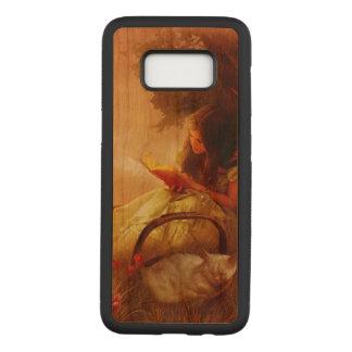 Capa Carved Para Samsung Galaxy S8 o leitor