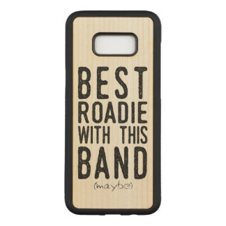Capa Carved Para Samsung Galaxy S8+ O melhor Roadie (talvez) (preto)
