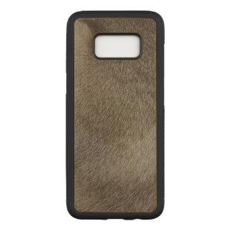 Capa Carved Para Samsung Galaxy S8 O olhar da pele luxuoso do gato Siamese do ponto