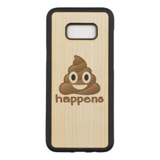 Capa Carved Para Samsung Galaxy S8+ O tombadilho acontece Emoji
