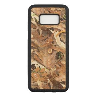 Capa Carved Para Samsung Galaxy S8 : Outono abstrato Camo da imagem da natureza