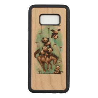 Capa Carved Para Samsung Galaxy S8 Panda