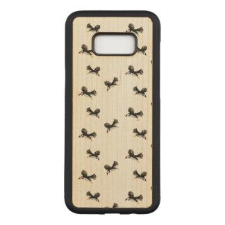 Capa Carved Para Samsung Galaxy S8+ Pássaros que voam o teste padrão dos