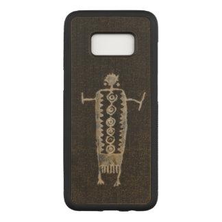 Capa Carved Para Samsung Galaxy S8 Petroglyph do Shaman