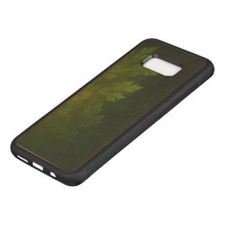 Capa Carved Para Samsung Galaxy S8+ Pinhos bonitos do Fractal na noite enevoada do