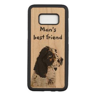 Capa Carved Para Samsung Galaxy S8 Pintura do retrato do animal de estimação do