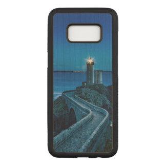 Capa Carved Para Samsung Galaxy S8 Plouzane, France, farol