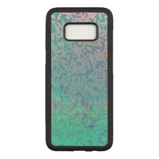 Capa Carved Para Samsung Galaxy S8 Poeira de estrela de madeira do brilho da caixa da
