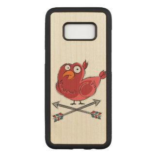 Capa Carved Para Samsung Galaxy S8 Pouca ilustração do passarinho