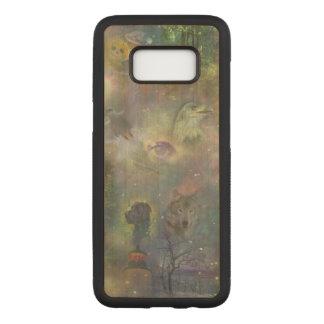 Capa Carved Para Samsung Galaxy S8 Quatro estações - queda do inverno do verão do