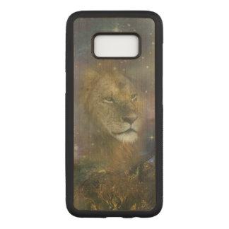 Capa Carved Para Samsung Galaxy S8 Rei do leão de animais da selva