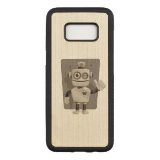Capa Carved Para Samsung Galaxy S8 Robô bonito