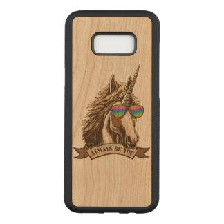 Capa Carved Para Samsung Galaxy S8+ Seja sempre você