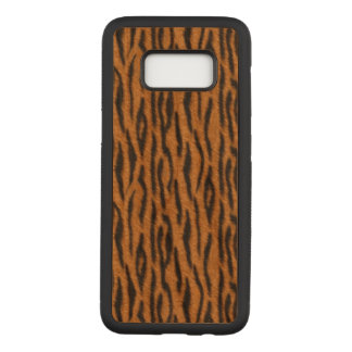Capa Carved Para Samsung Galaxy S8 Tigre