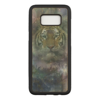 Capa Carved Para Samsung Galaxy S8 Tigre - uma beleza da natureza