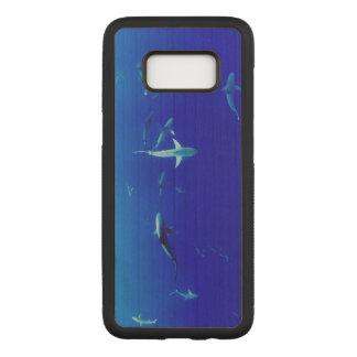 Capa Carved Para Samsung Galaxy S8 Tubarões subaquáticos