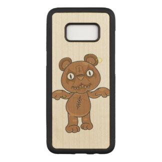 Capa Carved Para Samsung Galaxy S8 Urso de ursinho preto do metal
