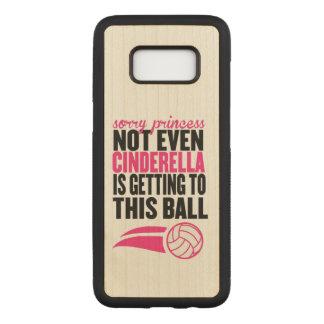 Capa Carved Para Samsung Galaxy S8 Voleibol: Princesa pesarosa Bola