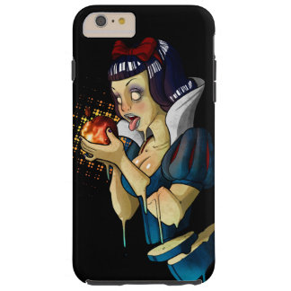 Capa Case iPhone 6/6s Plus Branca de Neve Zumbi