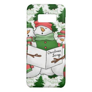 Capa Case-Mate Samsung Galaxy S8 3 Carolers do boneco de neve
