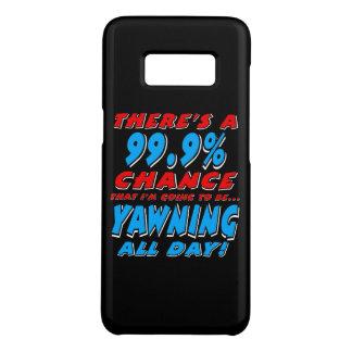 Capa Case-Mate Samsung Galaxy S8 99,9% BOCEJAR O DIA INTEIRO (branco)