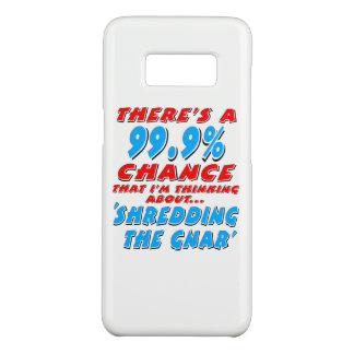 Capa Case-Mate Samsung Galaxy S8 99,9% SHREDDING O GNAR (preto)