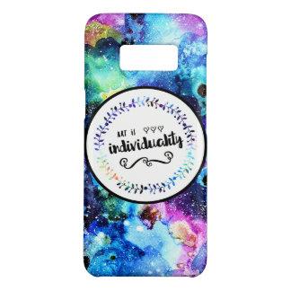 Capa Case-Mate Samsung Galaxy S8 A arte é individualidade
