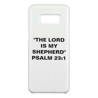 "Capa Case-Mate Samsung Galaxy S8 ""A caixa da galáxia S8 do senhor Ser Meu Pastor"""