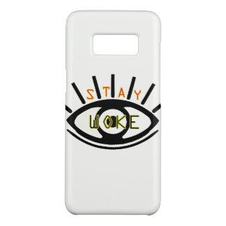 Capa Case-Mate Samsung Galaxy S8 A estada acordou o gráfico básico do olho do