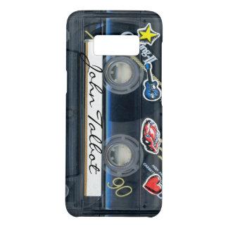 Capa Case-Mate Samsung Galaxy S8 A gaveta retro Samsung da cassete áudio do T3 80s